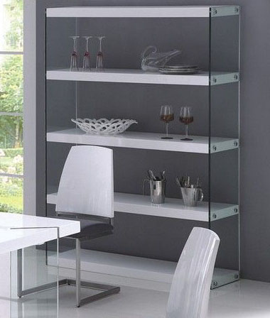 New products prime classic design modern italian for Contemporary display shelves