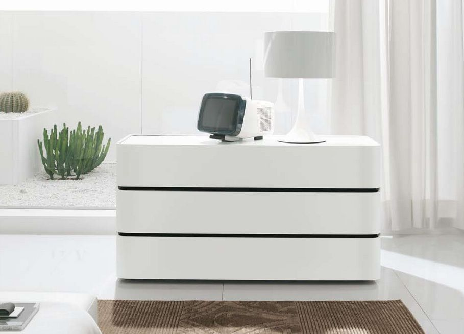 Contemporary White Italian Dresser Prime Classic Design Modern Italian And L