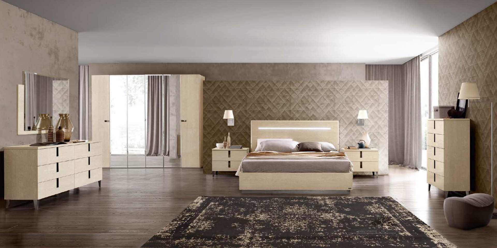 Made in Italy Quality Modern Contemporary Bedroom