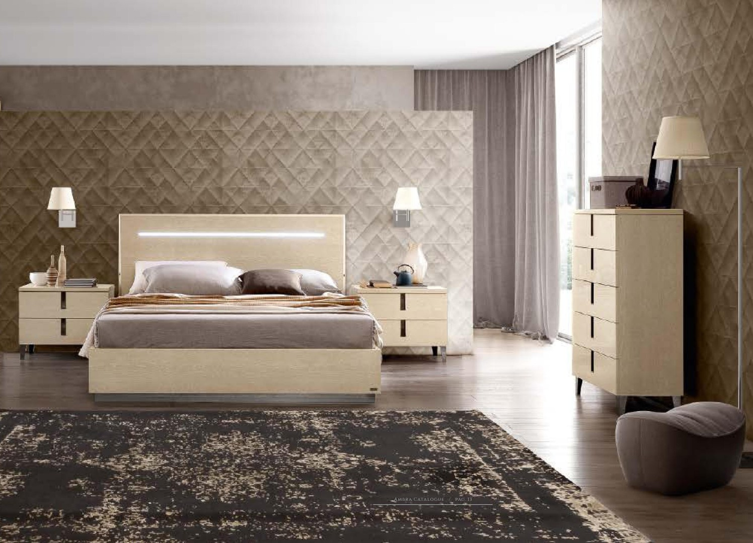 Made In Italy Quality Modern Contemporary Bedroom San