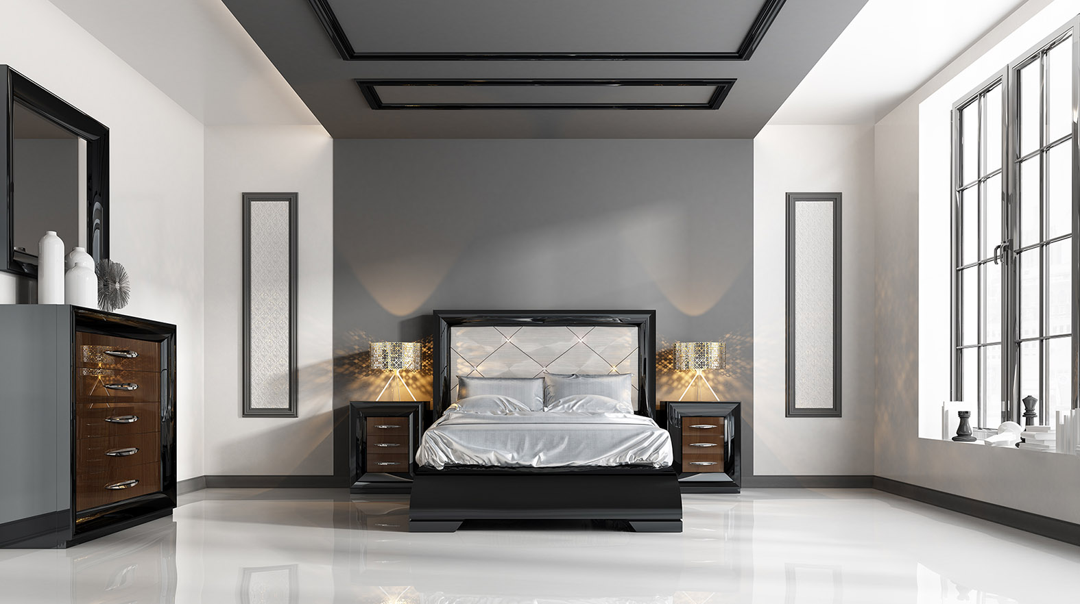 Made in spain quality design bedroom furniture long beach for Bedroom furniture spain