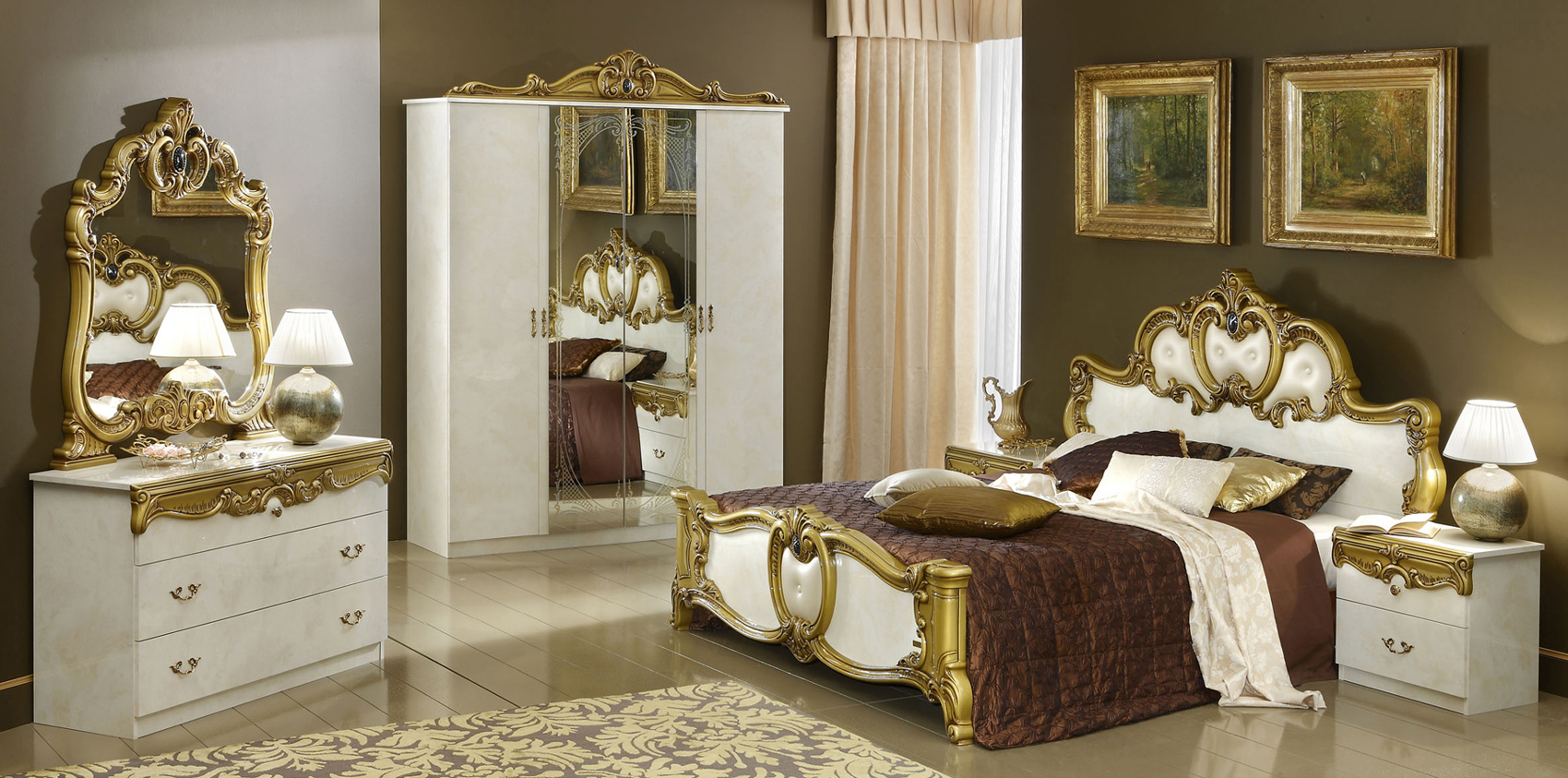 Elegant Quality High End Classic Furniture Set Orlando