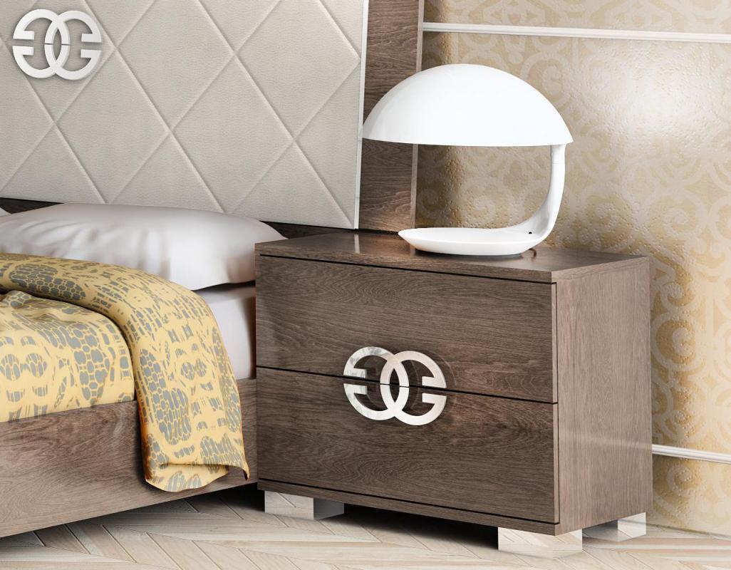 Made in Italy Elegant Leather High End Bedroom Sets San Bernardino ...