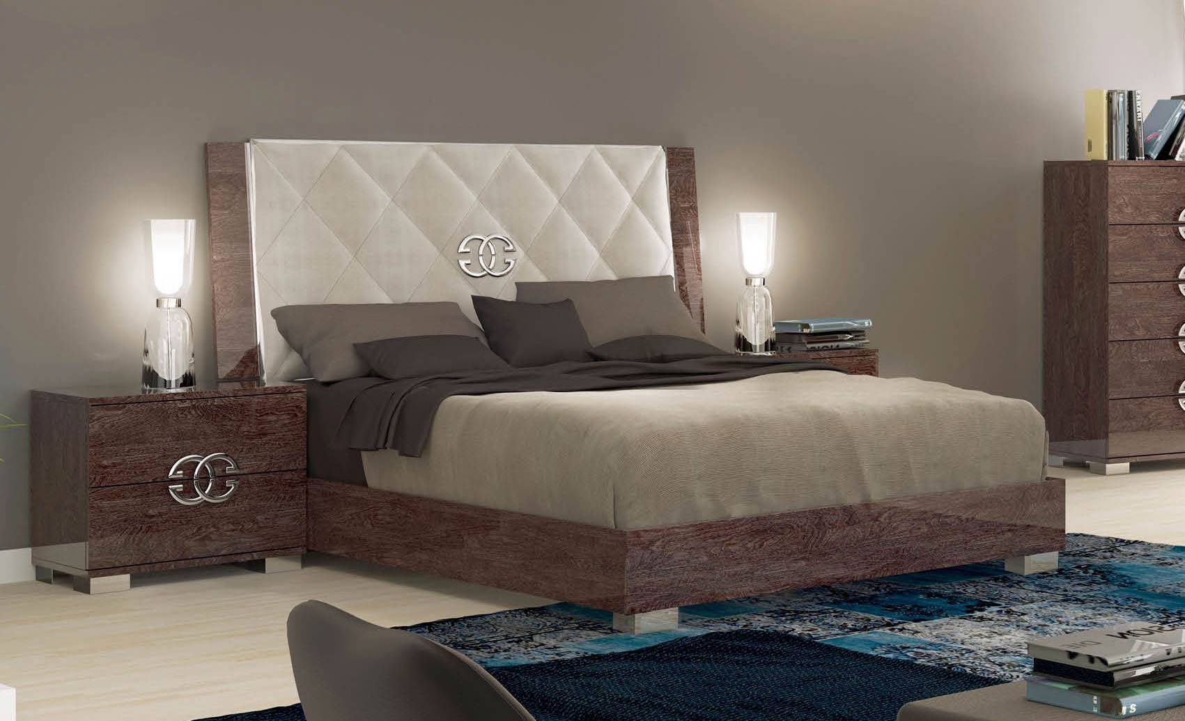 Made in Italy Elegant Leather High End Bedroom Sets San Bernardino ...