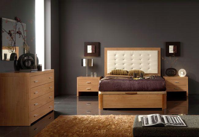 Elegant Leather Modern Bedroom Sets With Extra Storage Corpus Christi Texas E