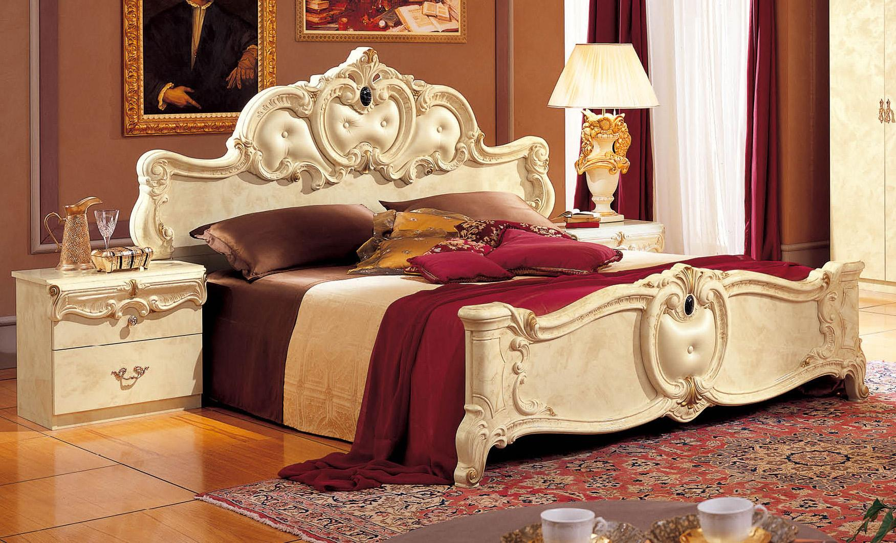 Made in Italy Leather High End Bedroom Furniture Glendale California ...