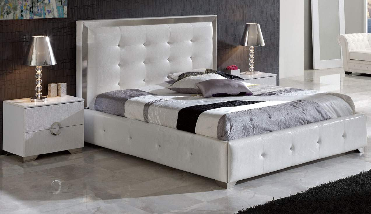 Made In Spain Leather Luxury Contemporary Furniture Set With Extra Storage Austin  Texas ESF Coco
