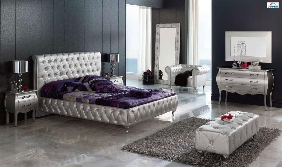 Unique Leather Platform Bedroom Sets
