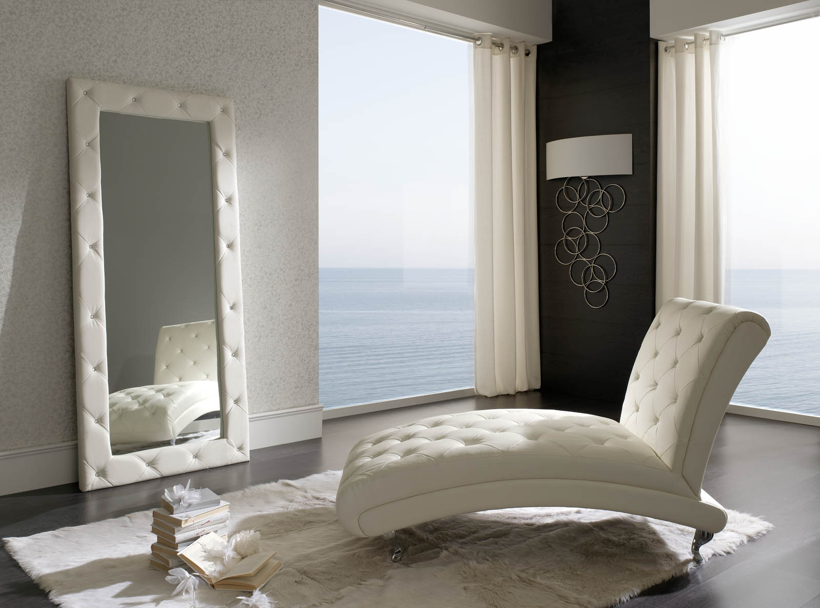 Made in Spain Leather Bedroom Contemporary Design with Extra Storage ...