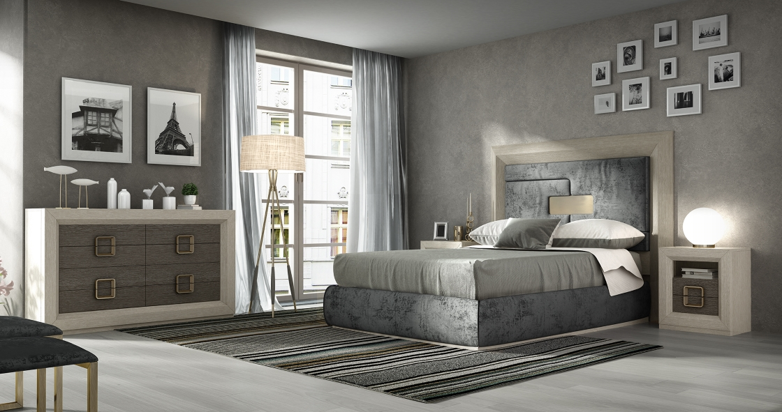 Contemporary Bedroom Sets | Made In Spain Wood Contemporary Modern Bedroom Sets With Extra Storage