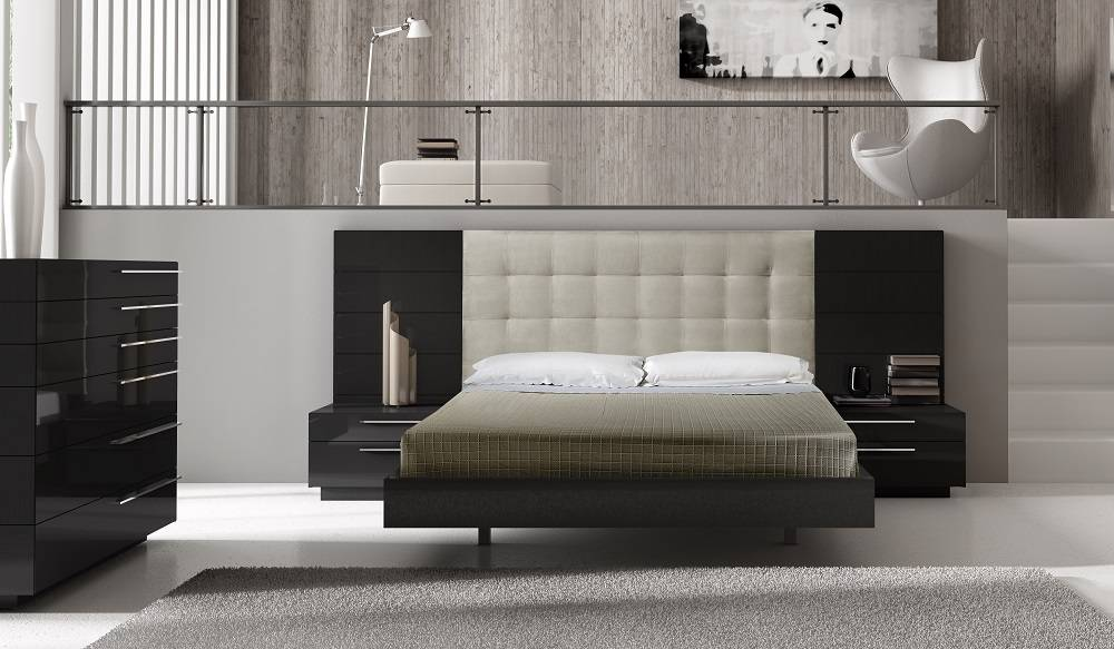Elegant Quality High End Bedroom Sets with Extra Storage Cases ...