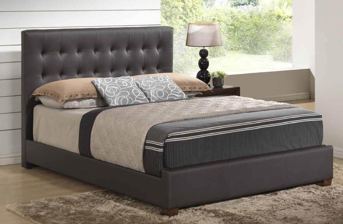 Stylish leather high end elite furniture san jose for Affordable bedroom suites