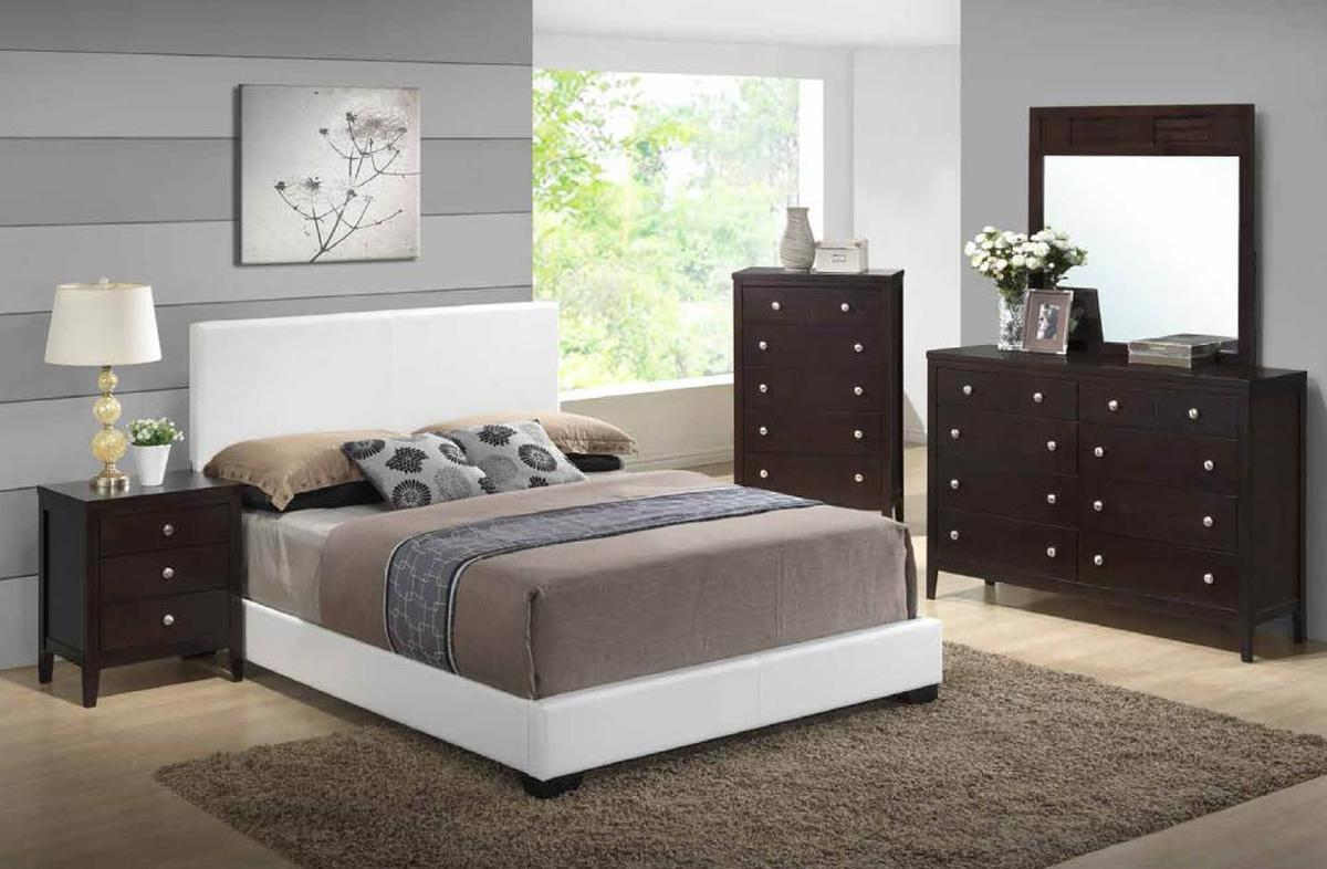 Stylish leather high end modern furniture detroit michigan for Affordable modern bedroom sets
