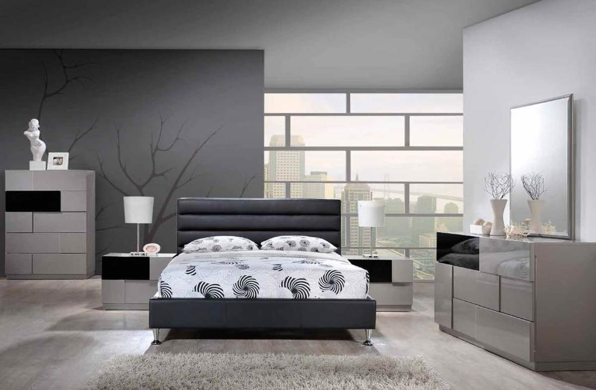 Refined Leather High End Bedroom Furniture Charlotte North