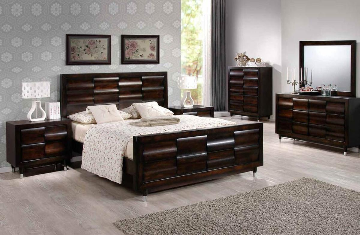 Italian bedroom set affordable la star composition modern for Cheap quality bedroom furniture