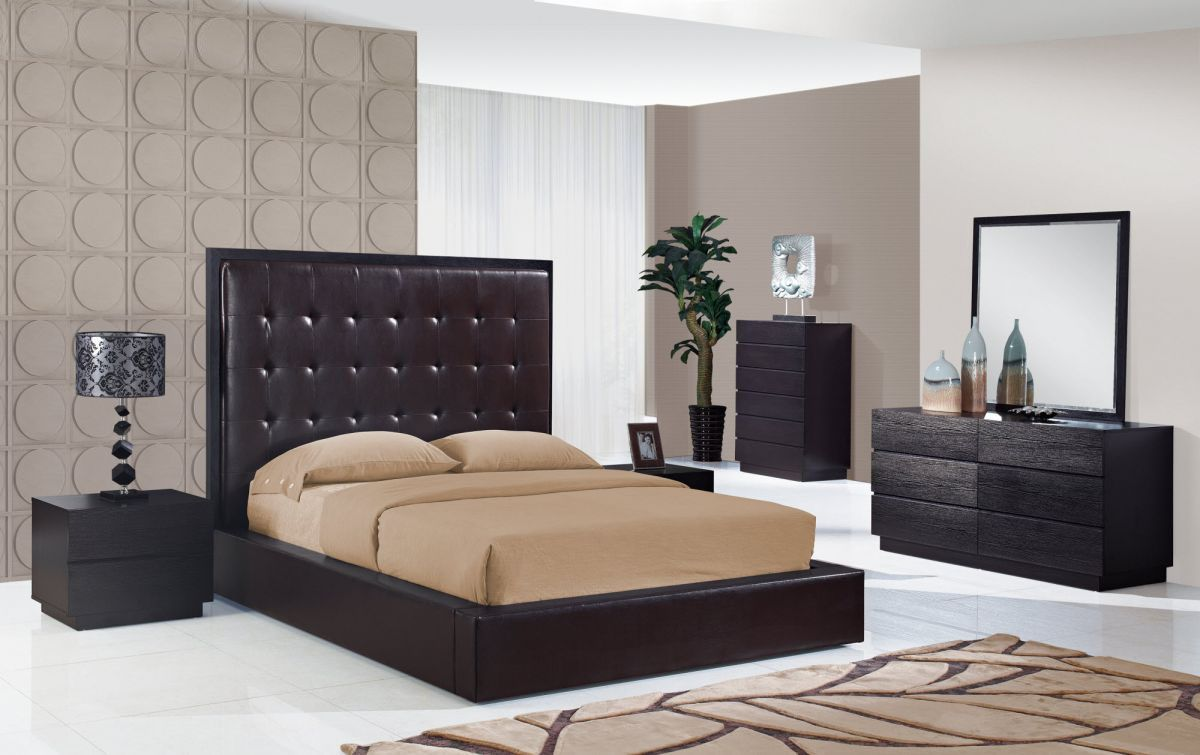 Elegant wood modern master bedroom set feat wood grain cincinnati ohio - Modern And Italian Master Bedroom Sets Luxury Collection Master
