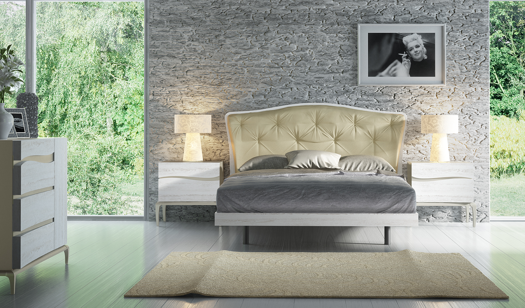 Overnice Wood Contemporary High End Furniture Chicago