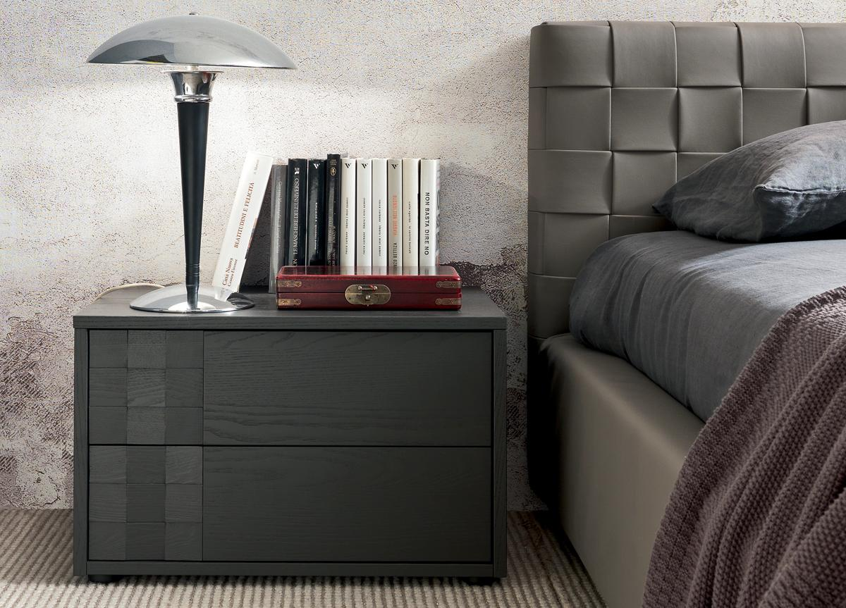 Made In Italy Leather Luxury Contemporary Furniture Set: Made In Italy Leather Modern Design Bed Set Louisville