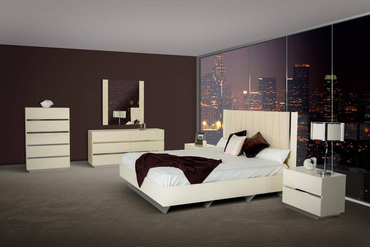 Made in italy leather high end bedroom sets oklahoma - Contemporary modern bedroom sets ...