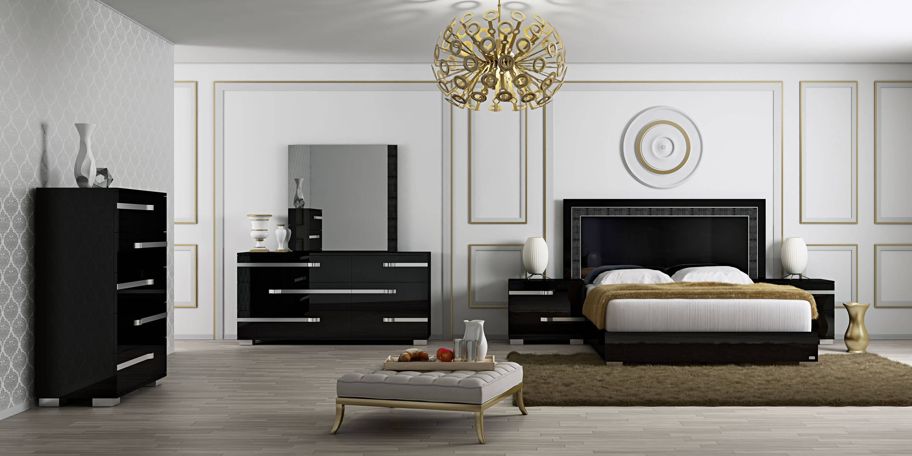 made in italy leather high end modern furniture with extra