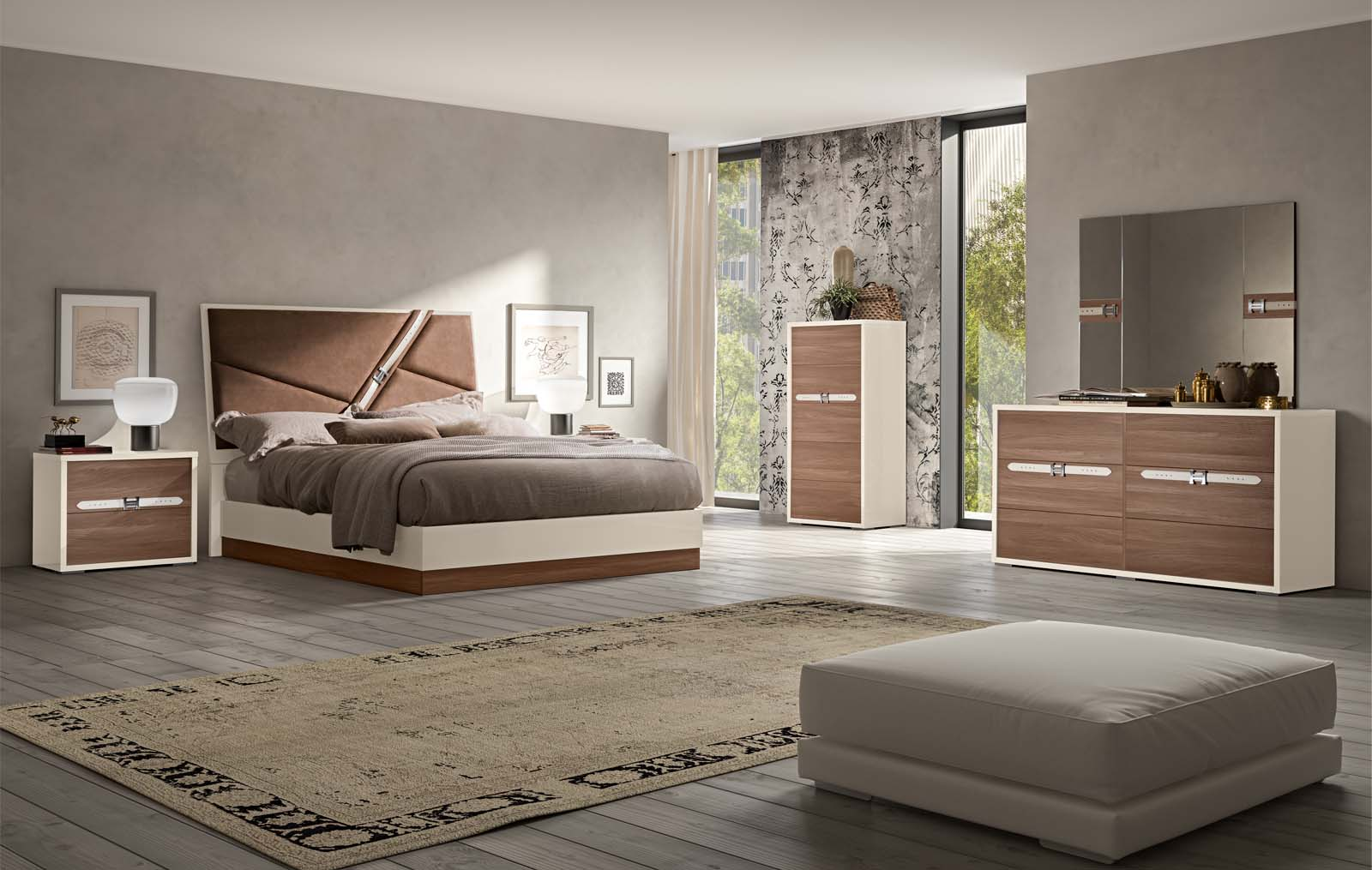 Made in Italy Wood Designer Bedroom Furniture Sets with Optional ...