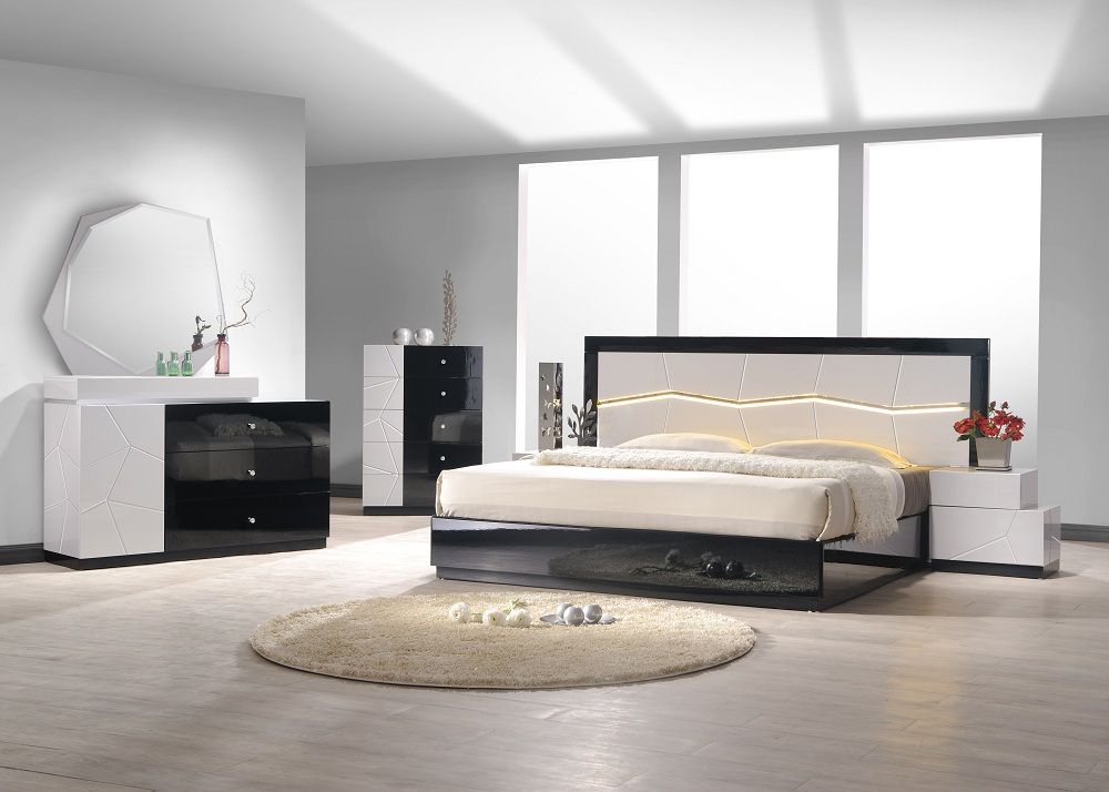 Elegant Wood Designer Furniture Collection With Grey Black
