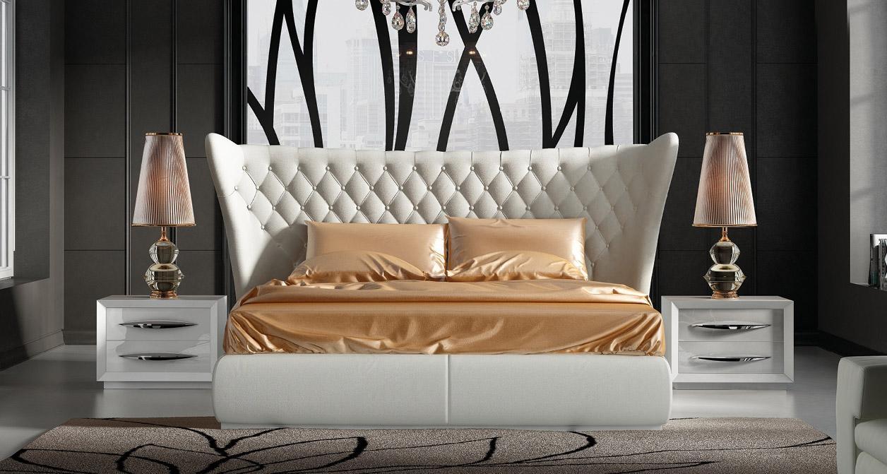 Stylish Leather Luxury Bedroom Furniture Sets Charlotte North Carolina Esf Franco Miami