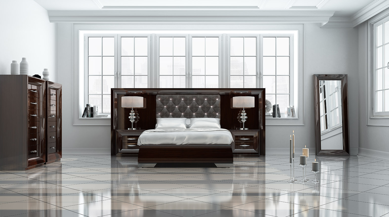 Extravagant Wood High End Contemporary Furniture