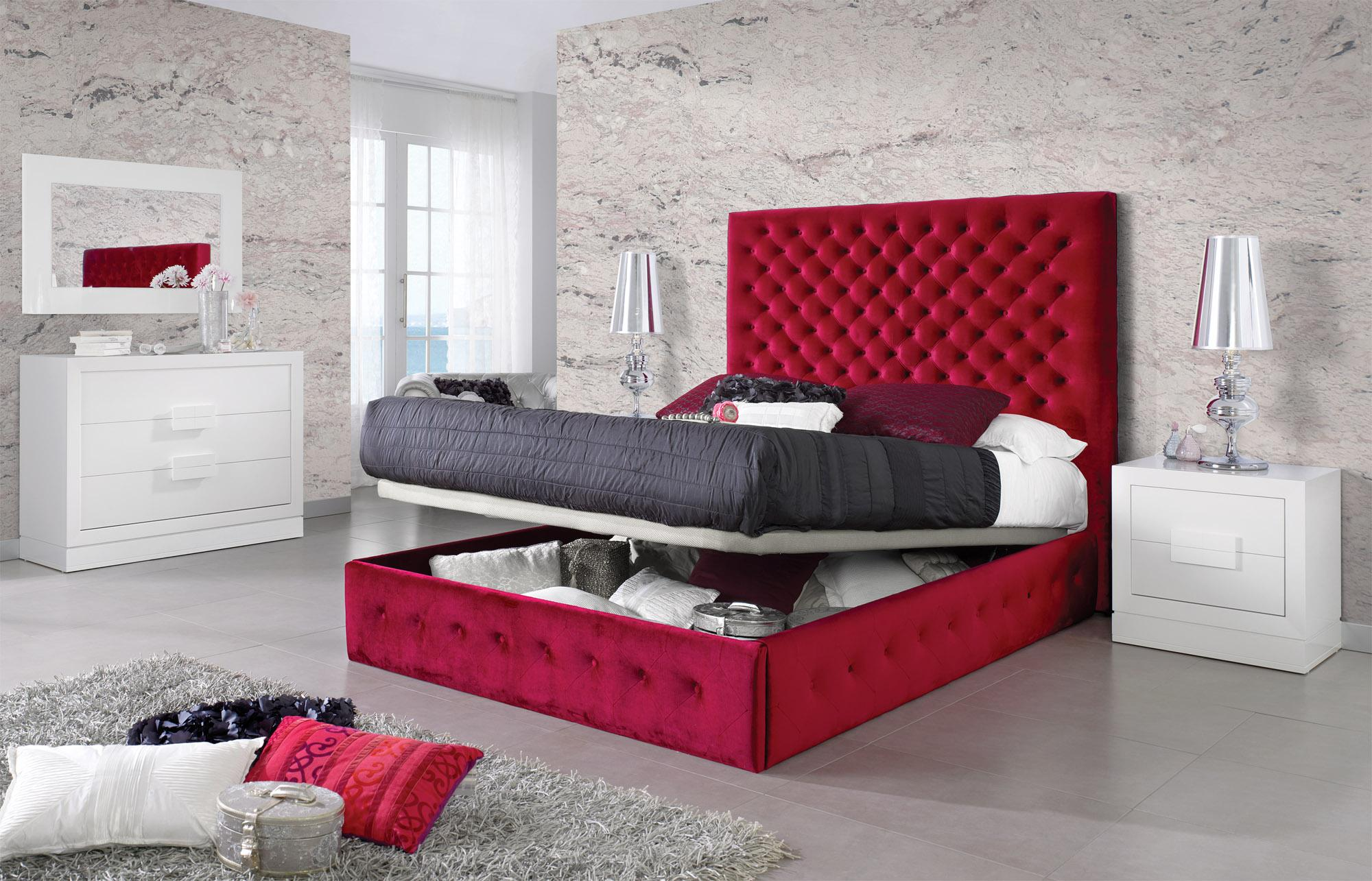 Stylish Quality Designer Master Bedroom Furniture With Extra Storage Omaha Nebraska Esf Leonor