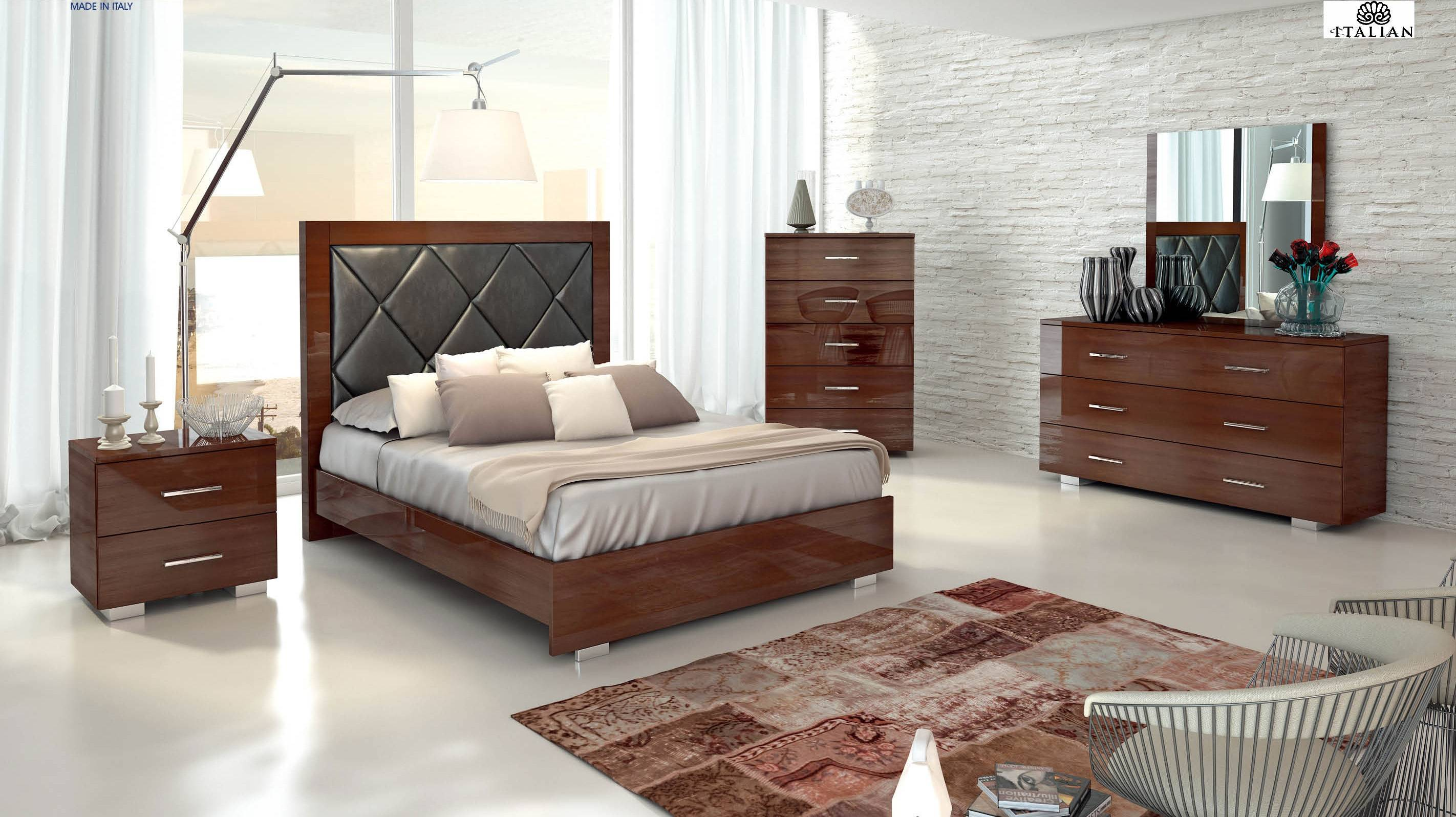 Made in italy wood modern high end furniture indianapolis High end bedroom design