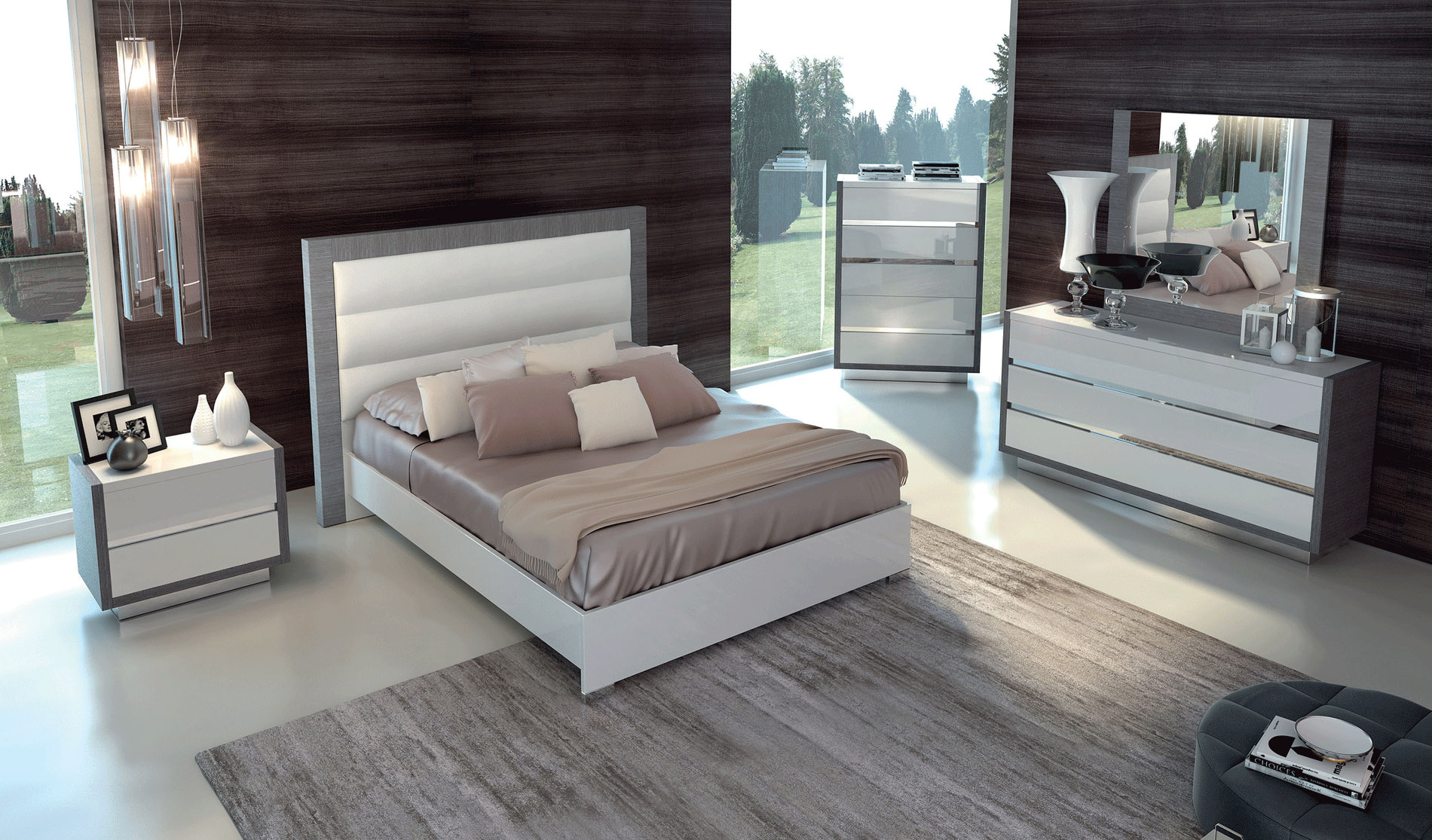 Made In Italy Quality Luxury Bedroom Sets Jacksonville Florida Esf Mangano