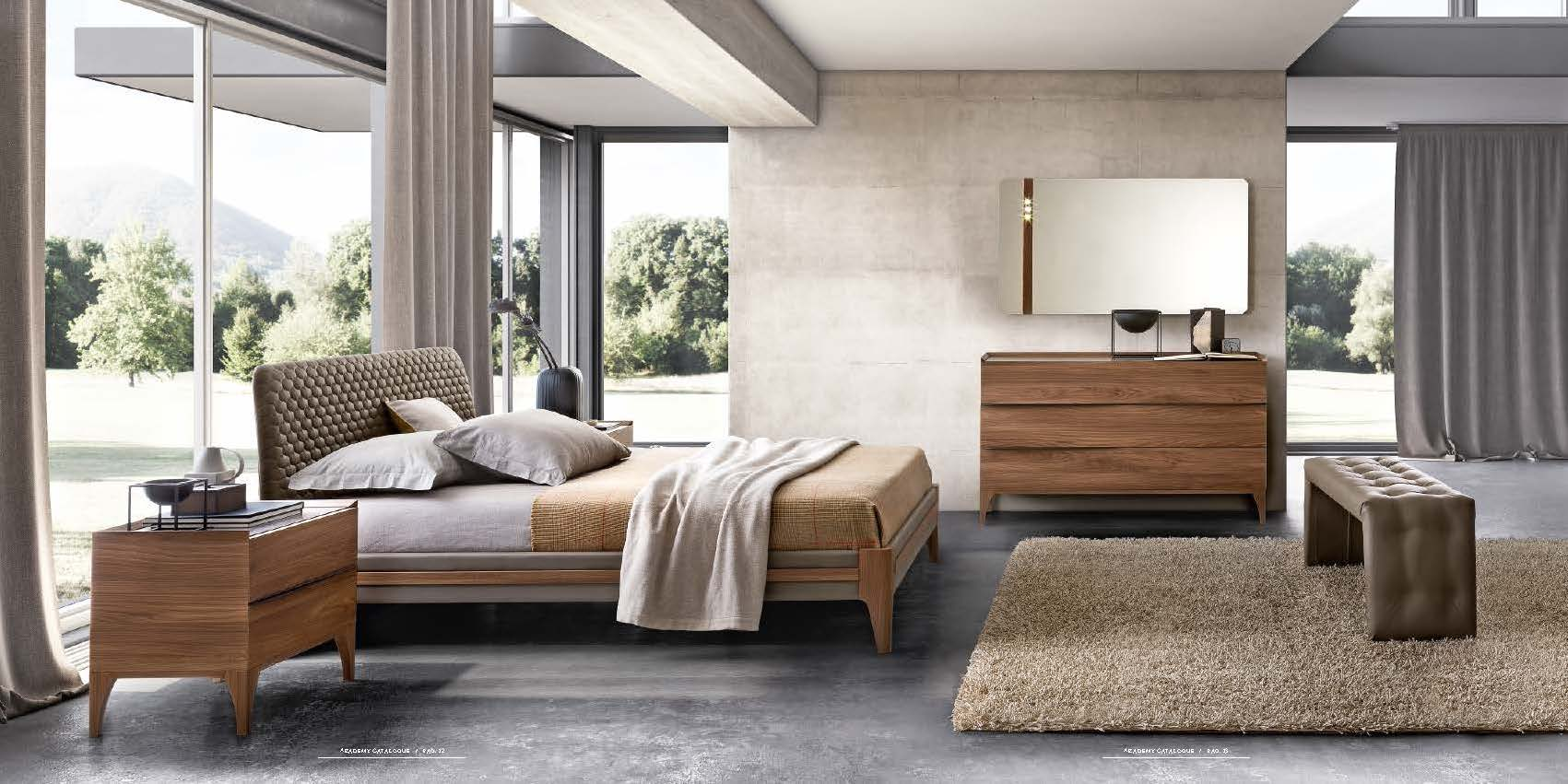 High End Modern Furniture: Made In Italy Leather Modern High End Furniture Feat Wood