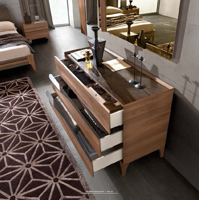 Made In Italy Leather Luxury Contemporary Furniture Set: Made In Italy Leather Modern High End Furniture Feat Wood