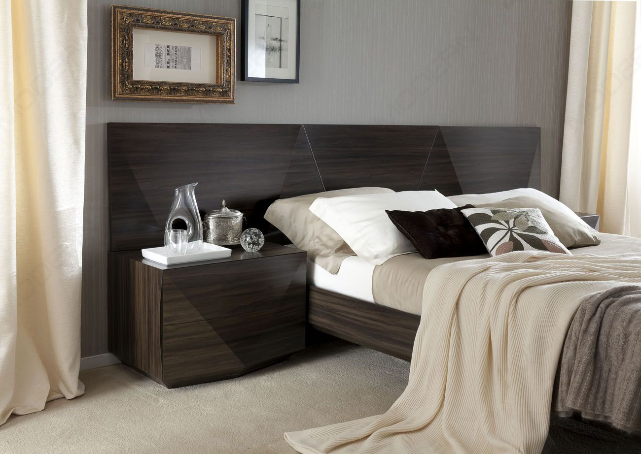 Made in Italy Wood Luxury Bedroom Furniture Sets with Long ...