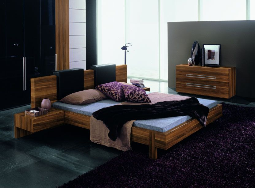 Made In Italy Quality Contemporary High End Furniture With Headboard Pillows El Paso Texas