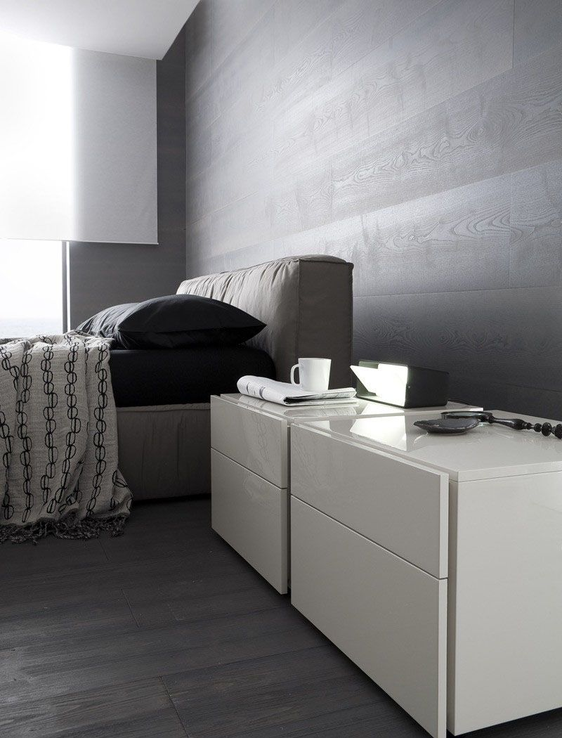 Made in Italy Wood and Nano Fabric Modern Contemporary Bedroom Designs - Click Image to Close