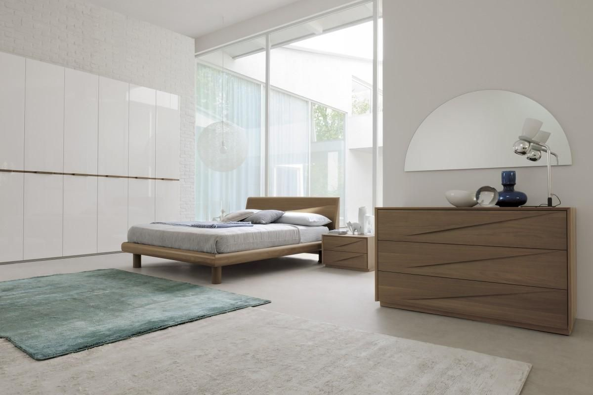 Made In Italy Wood Designer Bedroom Furniture Sets With Optional Storage System New Haven