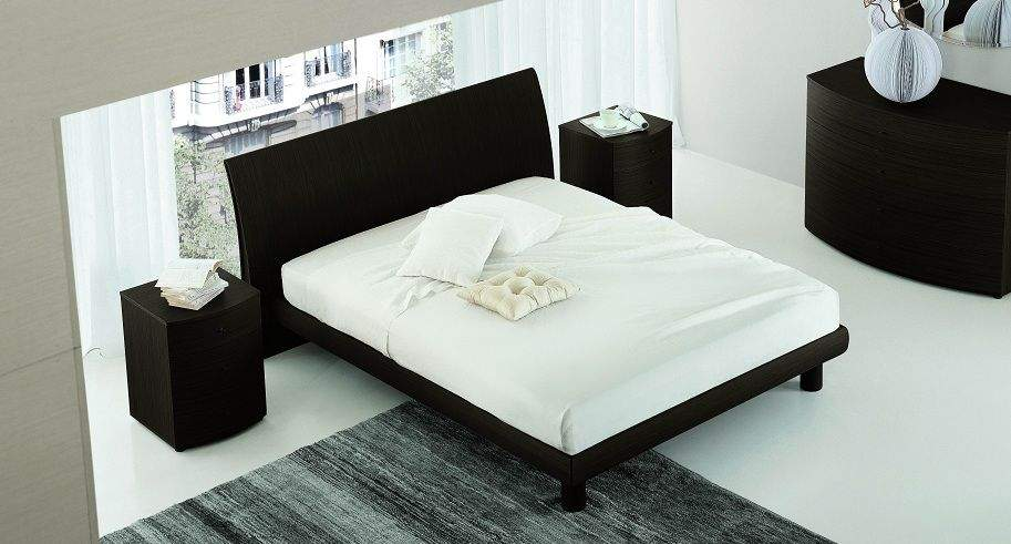 Made in Italy Wood Modern Bedroom Sets with Optional Storage