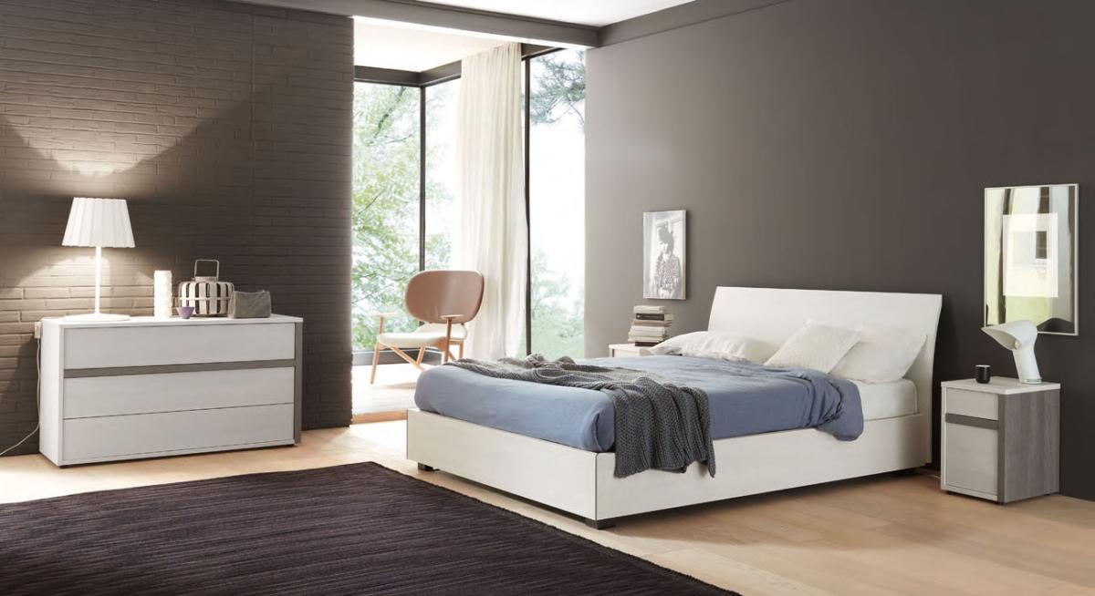 Made in italy wood contemporary master bedroom designs with extra storage los angeles california - Designer bedroom picture ...