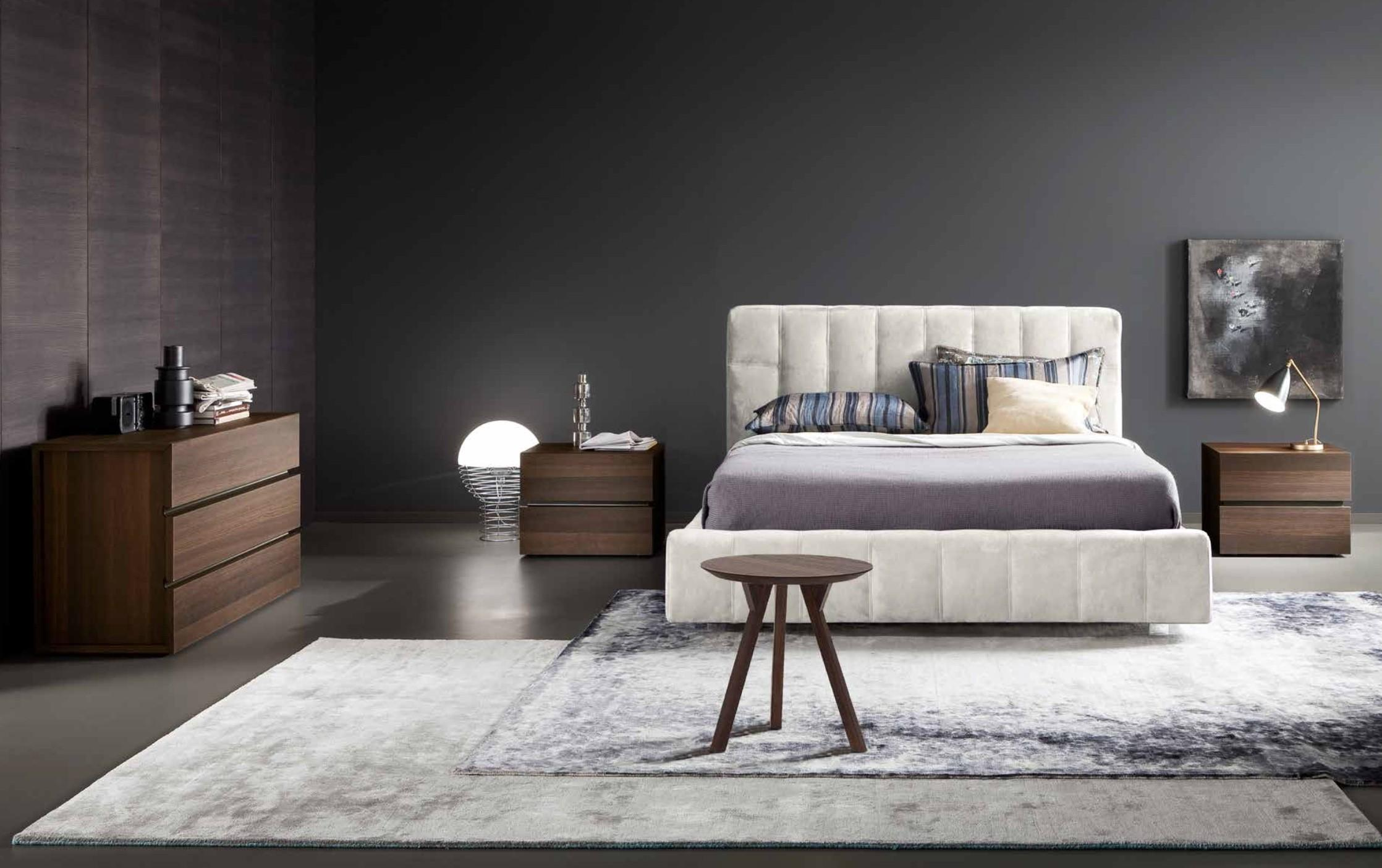 Made in Italy Wood High End Bedroom Furniture feat Wood Grain