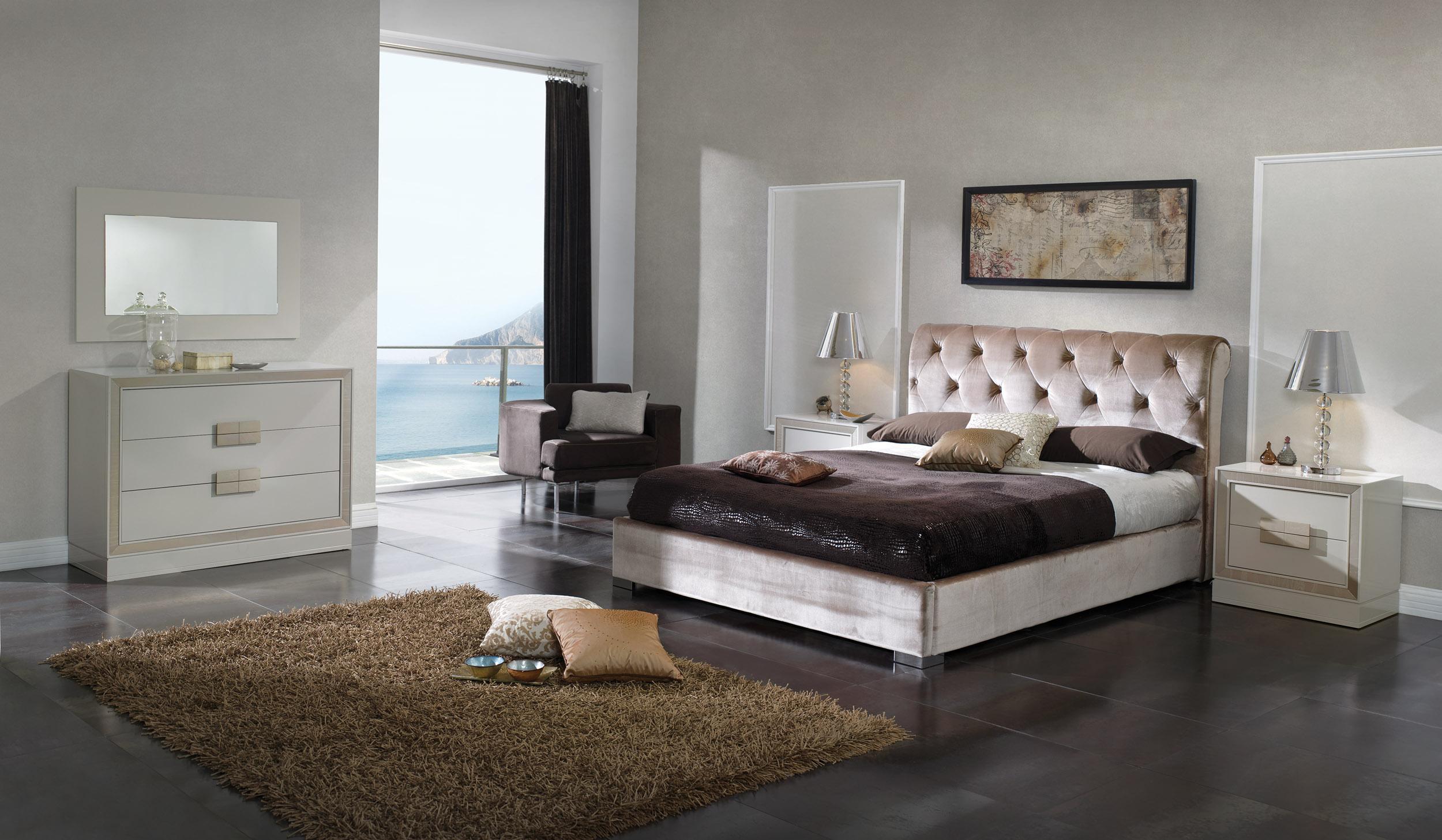 retro contemporary european bedroom set phoenix arizona esf miriam. Black Bedroom Furniture Sets. Home Design Ideas