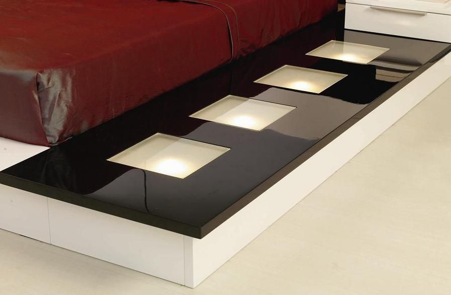 Exclusive quality modern furniture design set feat light for Quality modern furniture
