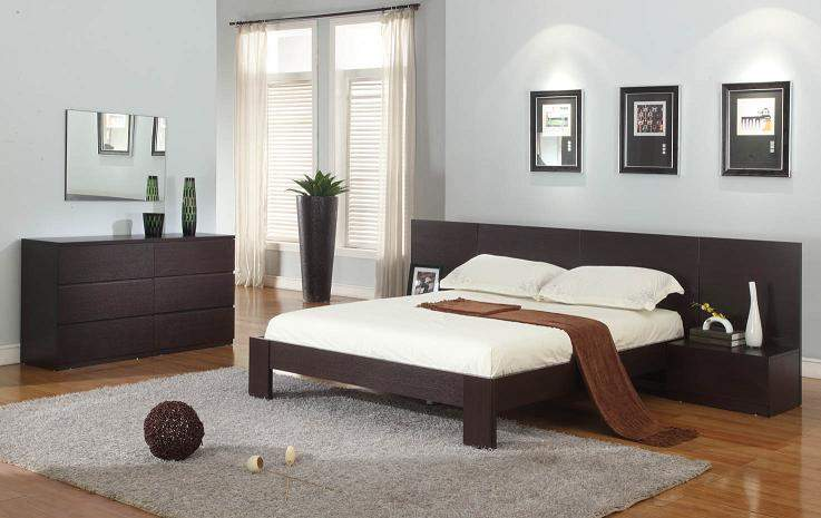 Exquisite Wood Modern Master Bedroom Set Bakersfield California VLYO