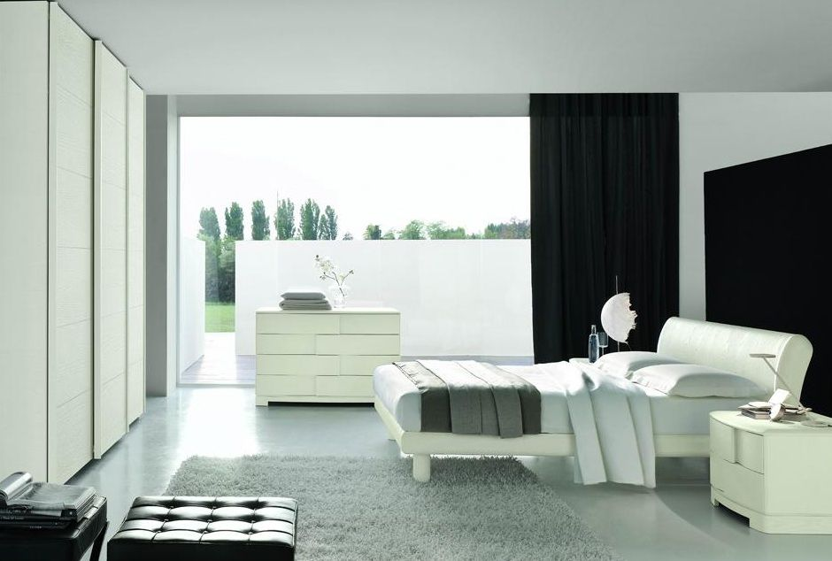 made in italy wood contemporary modern bedroom sets with optional