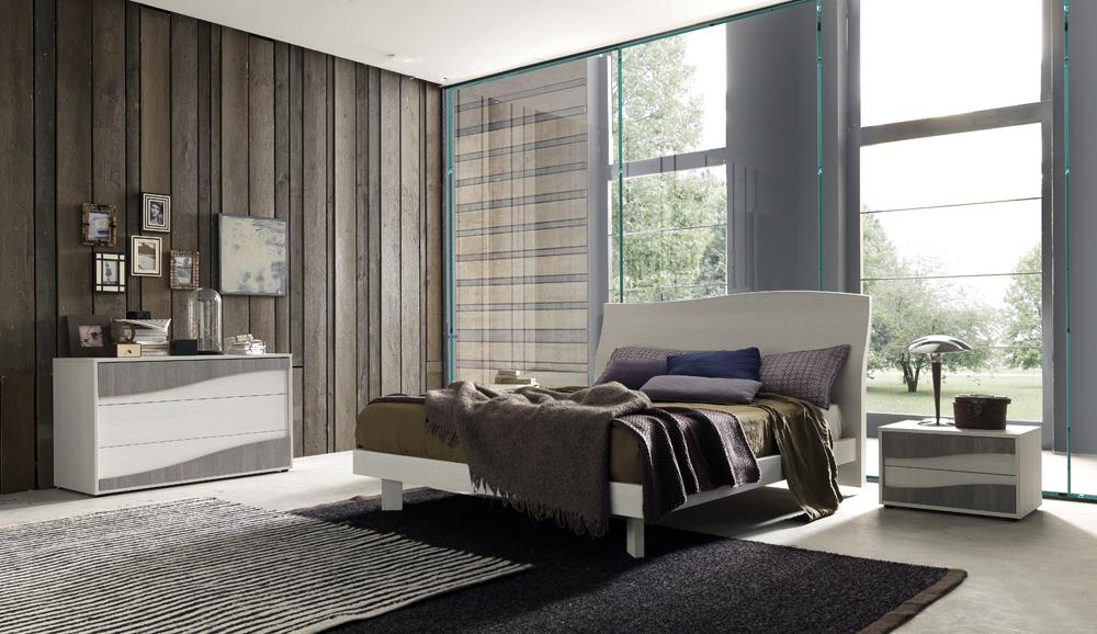 Made in italy quality modern master bedroom set chicago Good quality white bedroom furniture