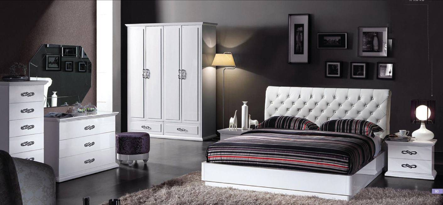 Exotic Leather High End Contemporary Furniture Set Detroit ...
