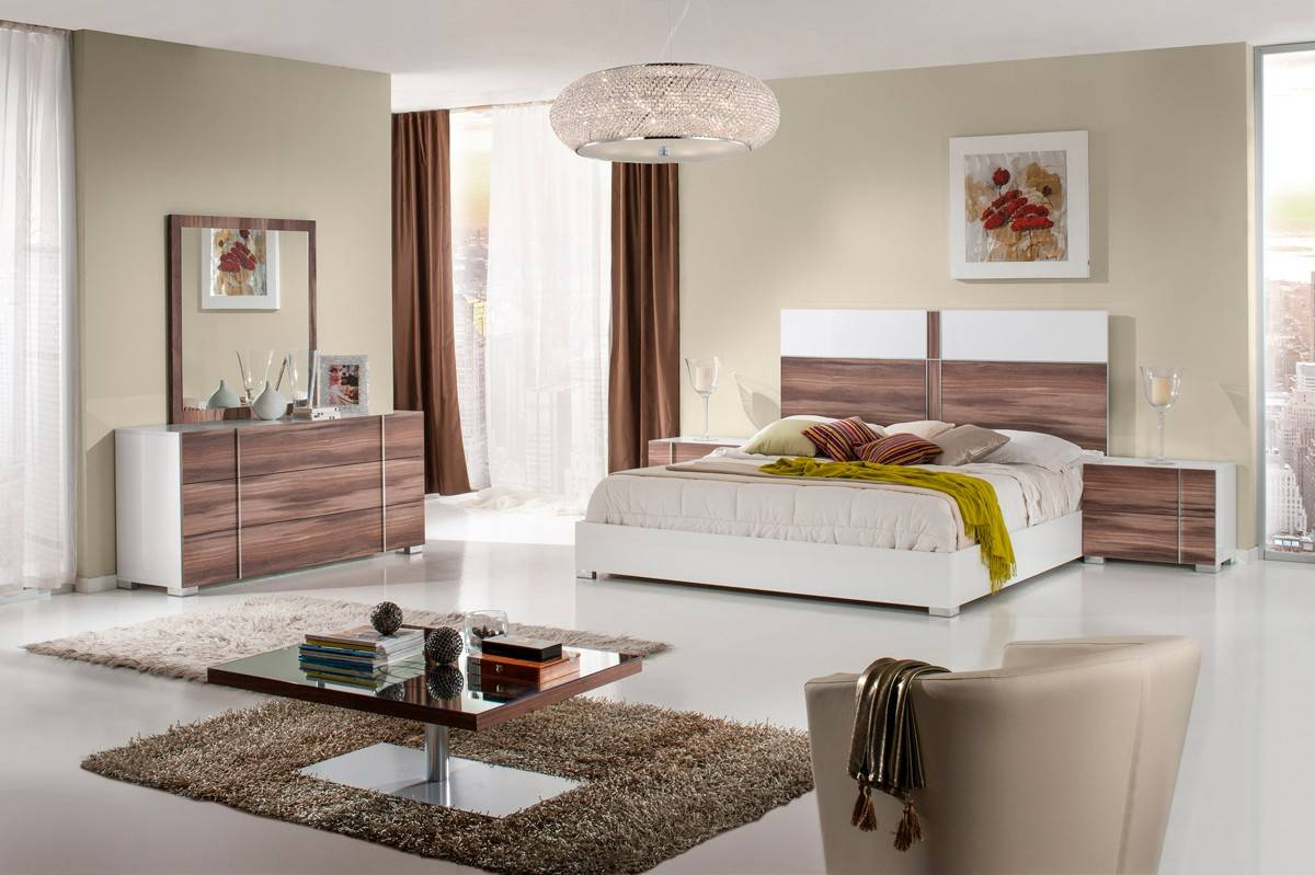 Made in Italy Wood Contemporary Master Bedroom Designs Oceanside ...