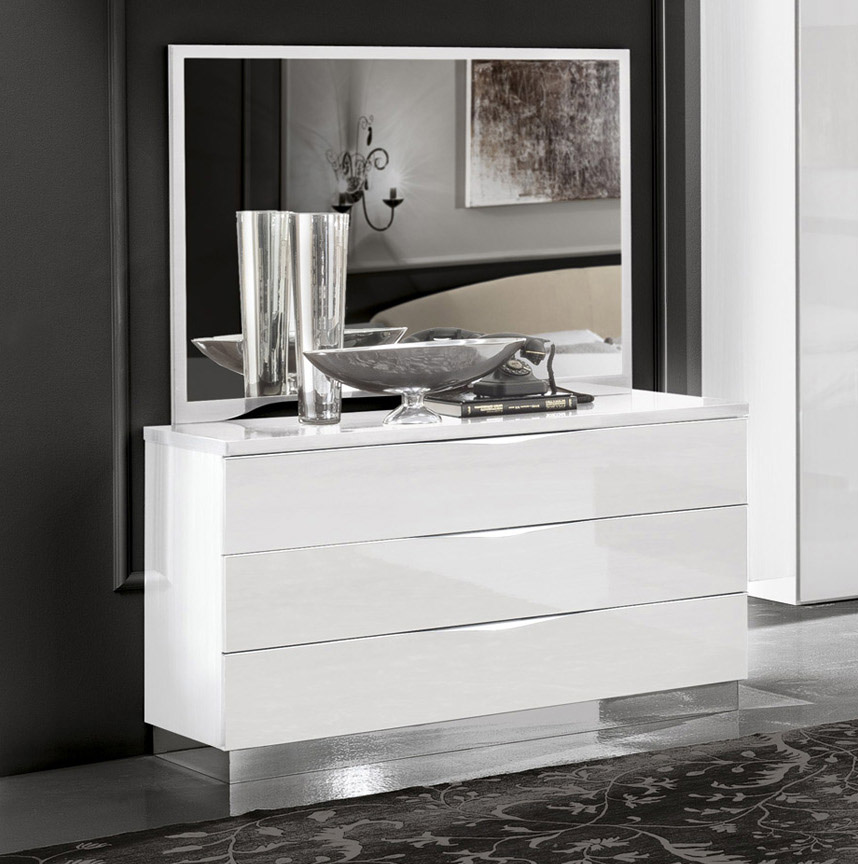Made In Italy Wood Contemporary Bedroom Design Austin
