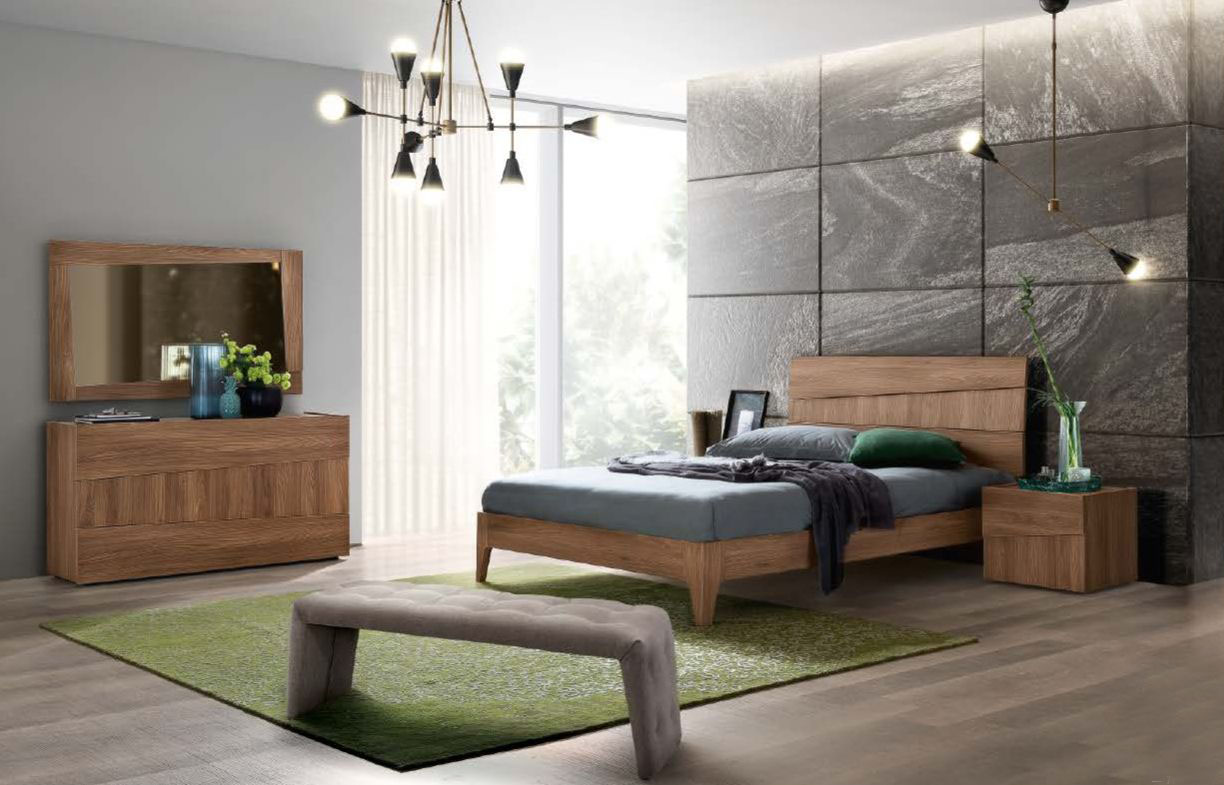 Made In Italy Wood Platform Bedroom Furniture Sets St