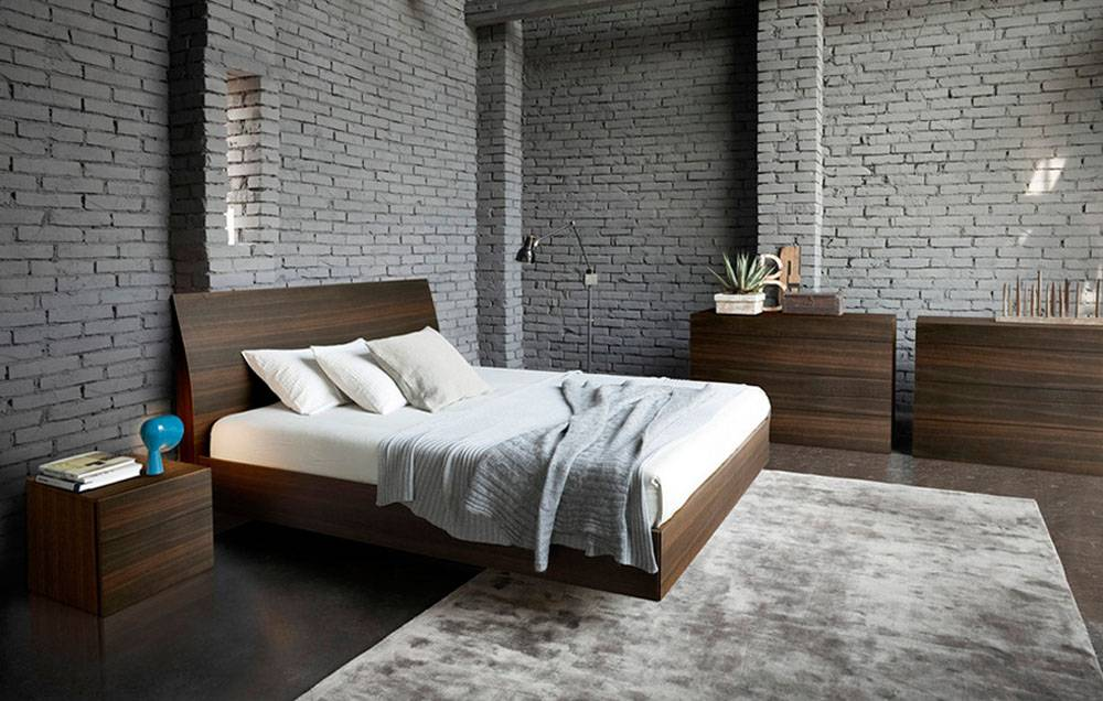 Made In Italy Leather Luxury Contemporary Furniture Set: Made In Italy Quality Modern Contemporary Bedroom